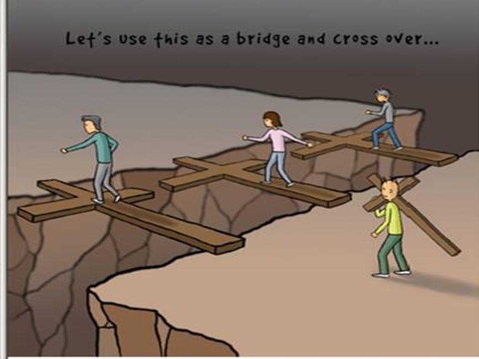Nós podemos usar isto como uma ponte e atravessá-la…