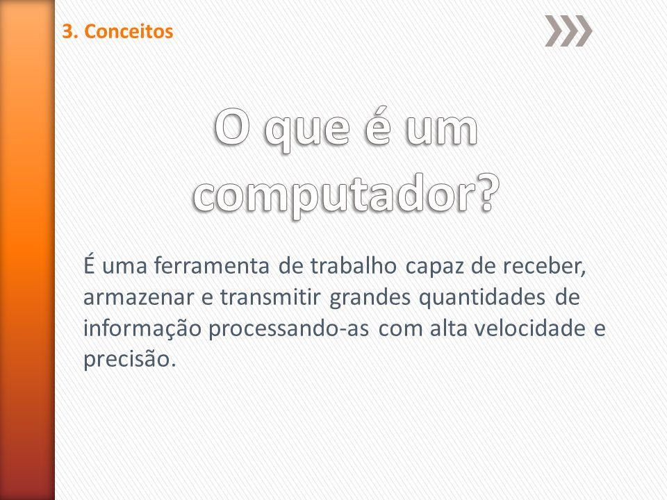 3. Conceitos O que é um computador