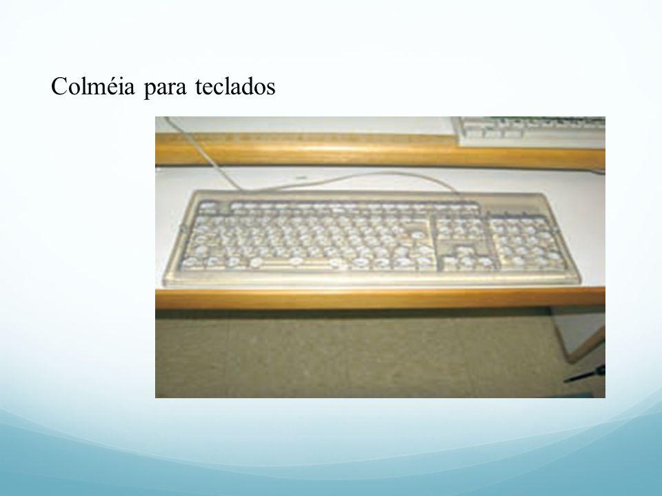 Colméia para teclados