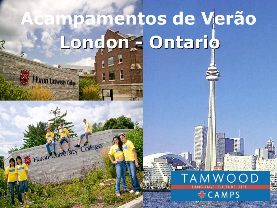 Acampamentos de Verão London - Ontario