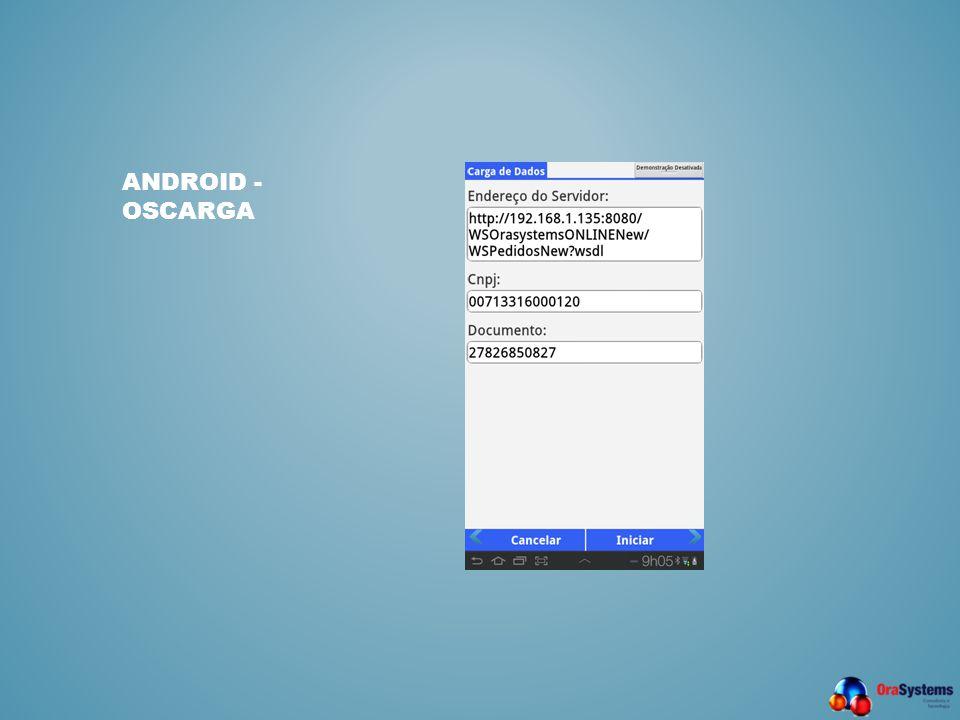 Android - OSCarga