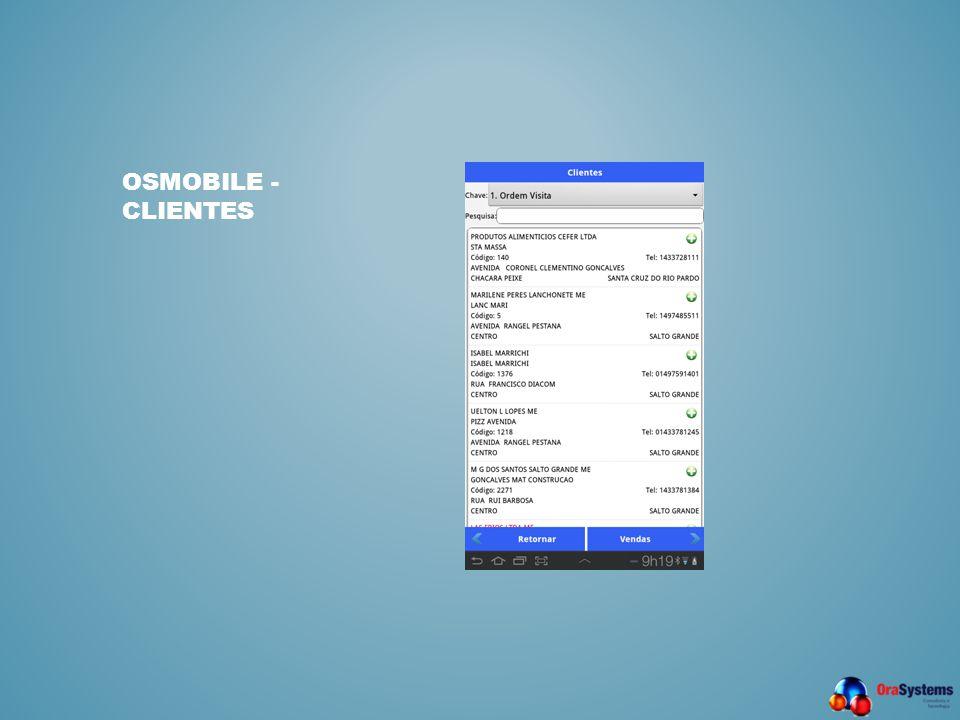 OSMobile - Clientes