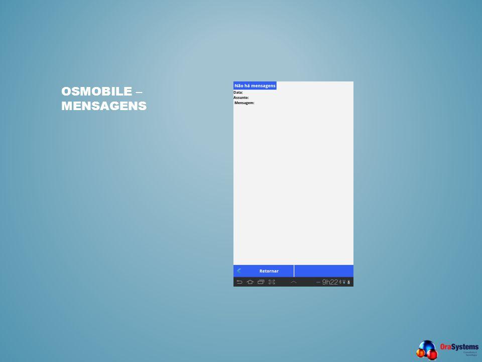 OSMobile – Mensagens