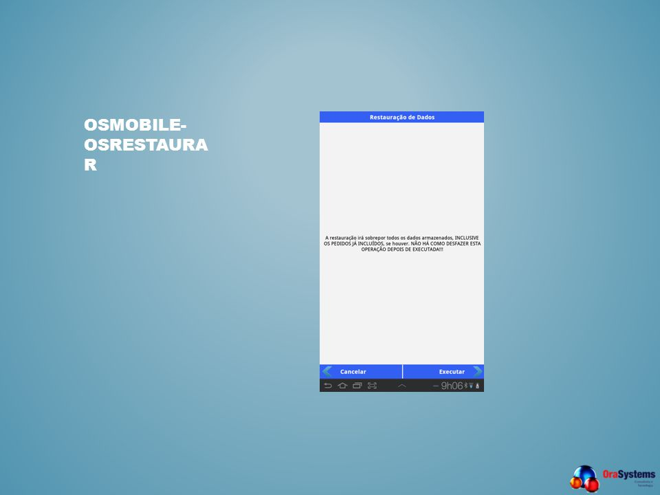 osmobile- OSRestaurar