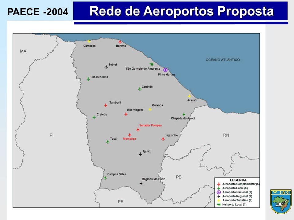 Rede de Aeroportos Proposta