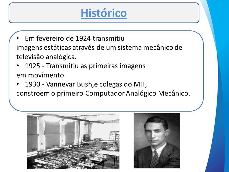 Histórico Em fevereiro de 1924 transmitiu
