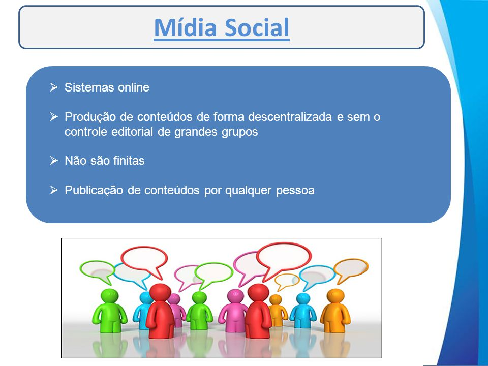 Mídia Social Sistemas online