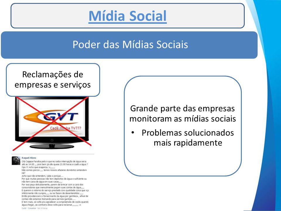 Mídia Social Poder das Mídias Sociais