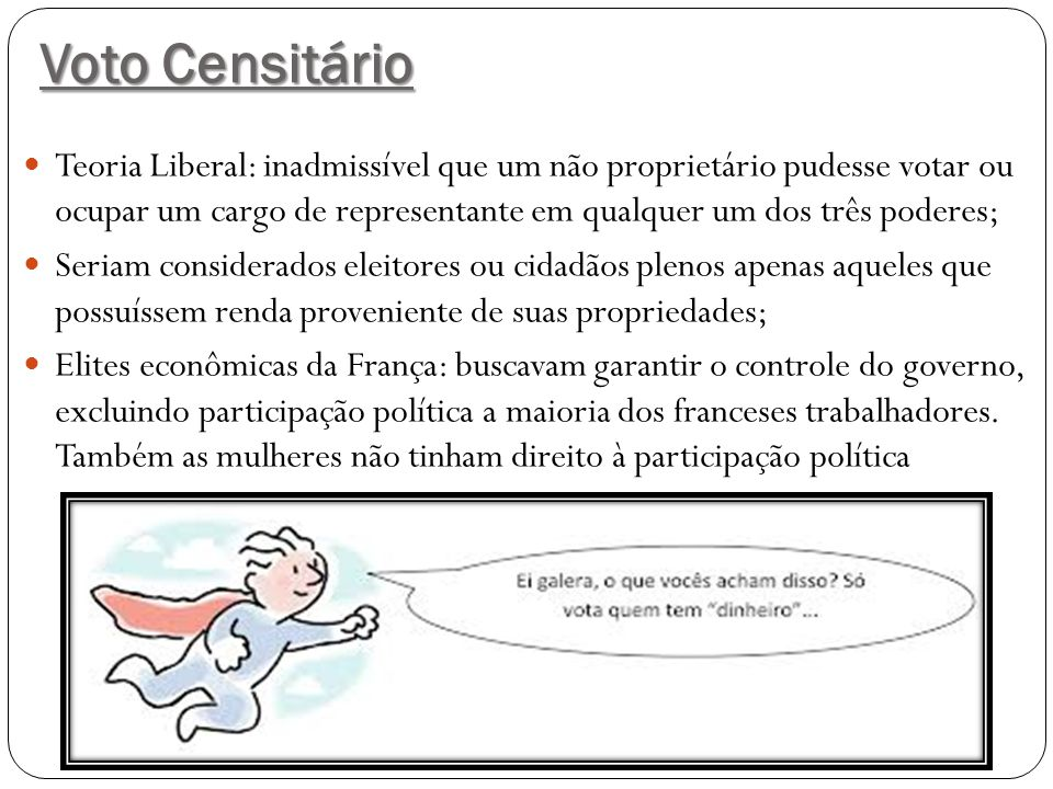 Voto Censitário