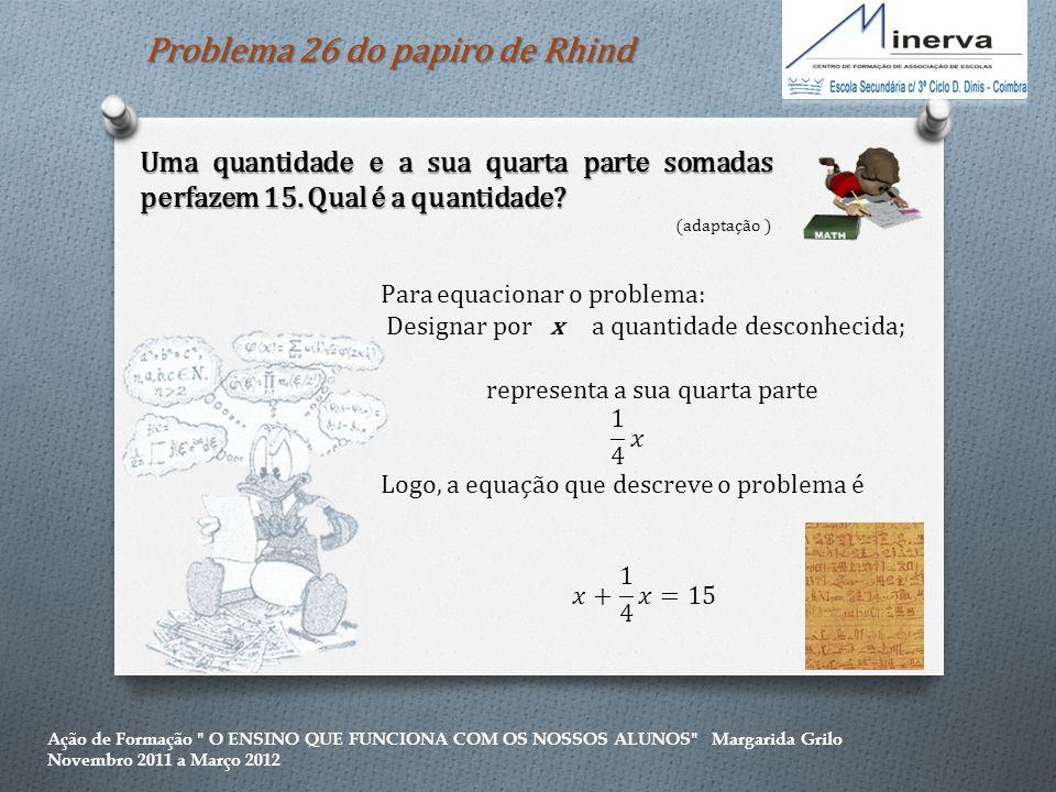 Problema 26 do papiro de Rhind