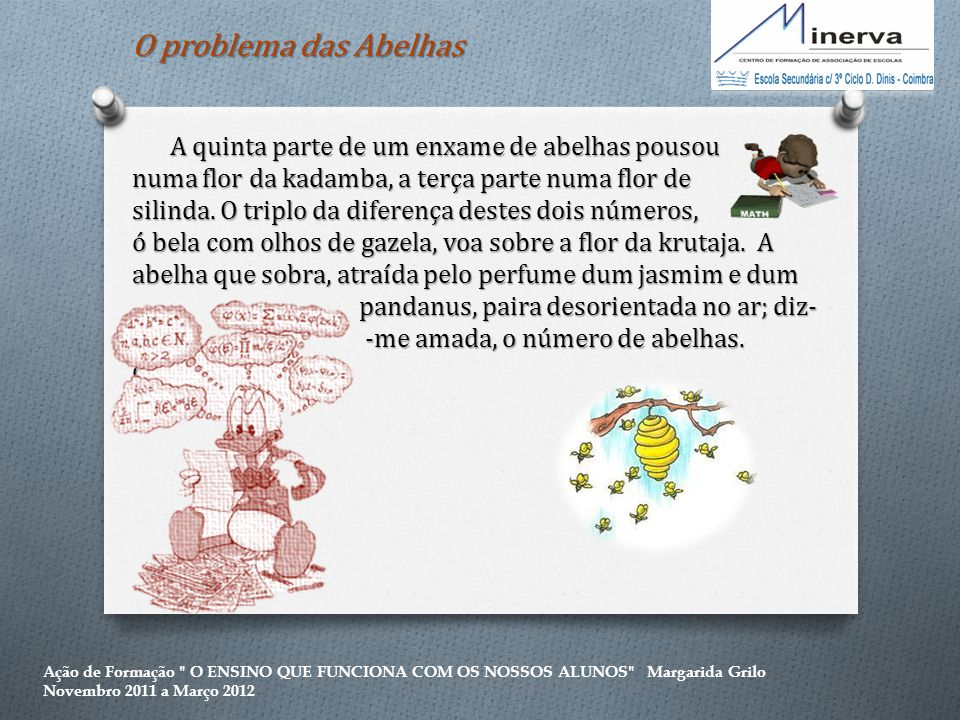 O problema das Abelhas