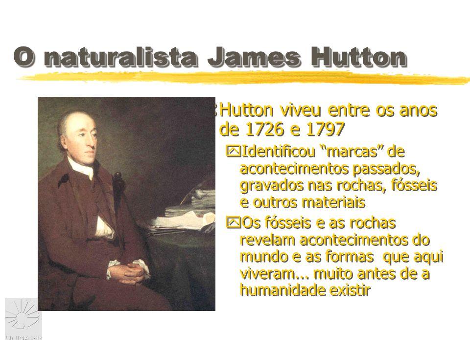 O naturalista James Hutton