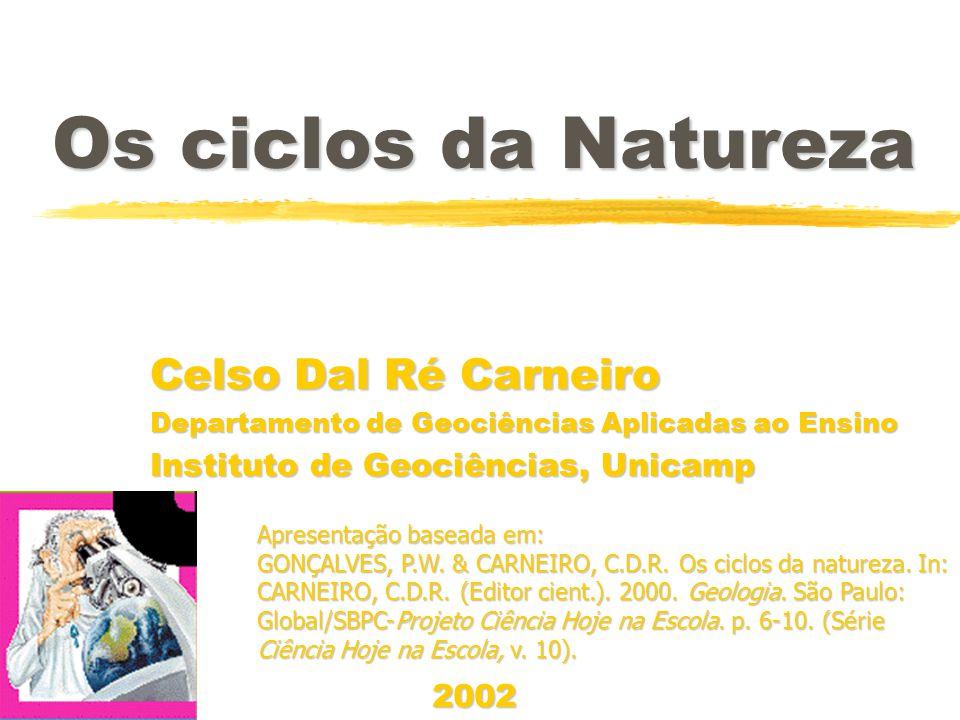 Os ciclos da Natureza Celso Dal Ré Carneiro