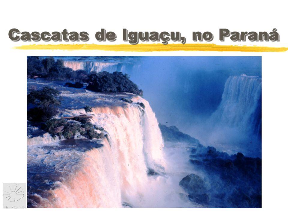 Cascatas de Iguaçu, no Paraná