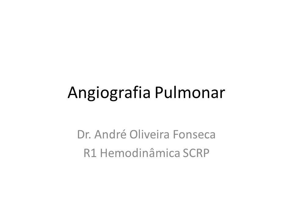 Dr. André Oliveira Fonseca R1 Hemodinâmica SCRP