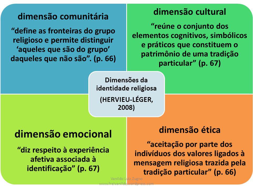 dimensão emocional dimensão cultural dimensão comunitária