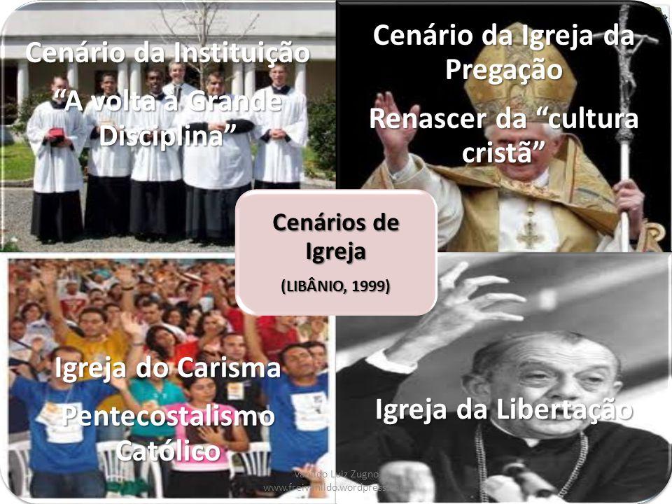 Cenários de Igreja (LIBÂNIO, 1999)