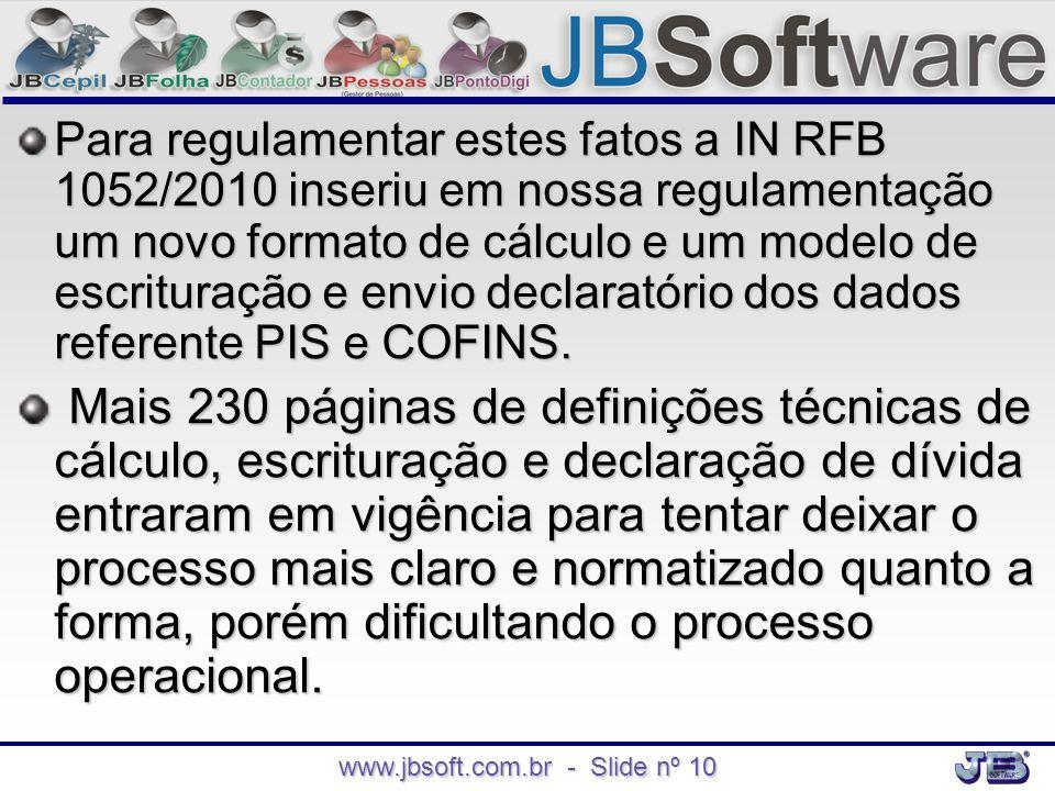 www.jbsoft.com.br - Slide nº 10
