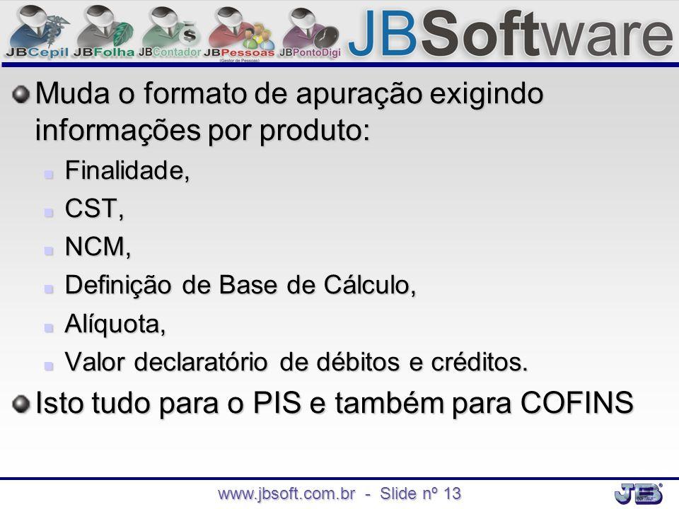 www.jbsoft.com.br - Slide nº 13