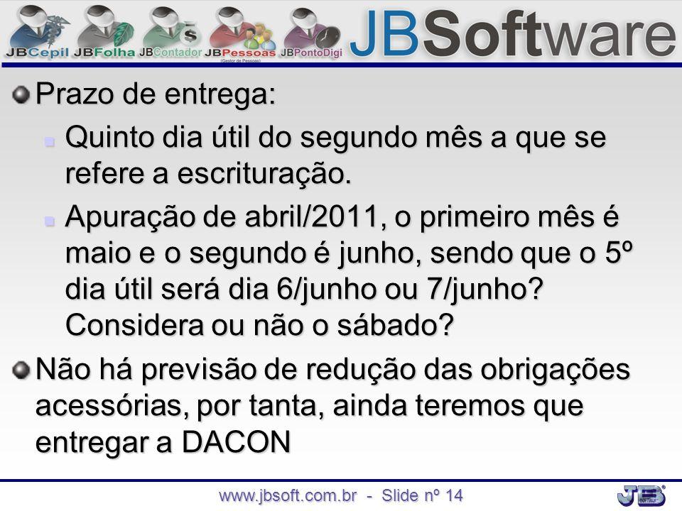 www.jbsoft.com.br - Slide nº 14