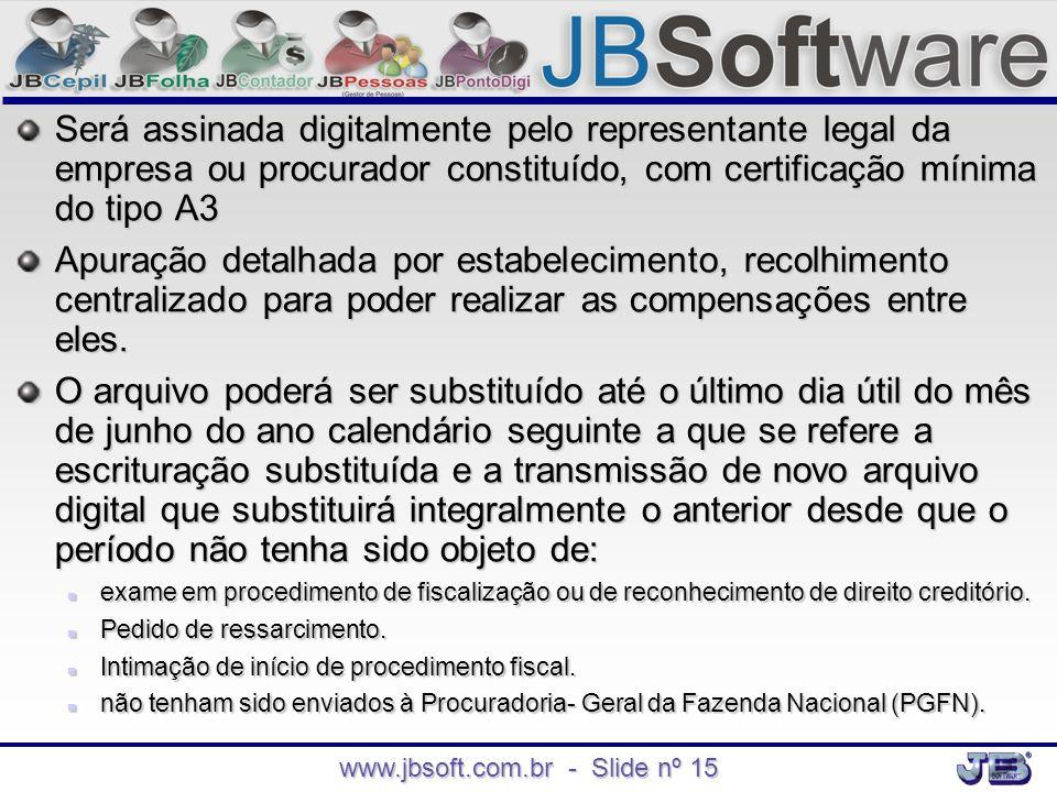 www.jbsoft.com.br - Slide nº 15