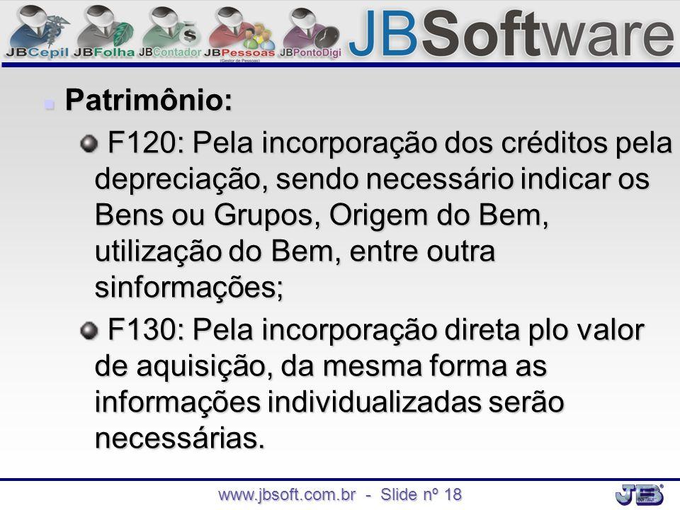 www.jbsoft.com.br - Slide nº 18