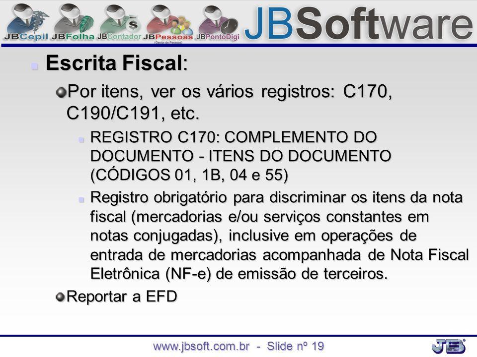 www.jbsoft.com.br - Slide nº 19
