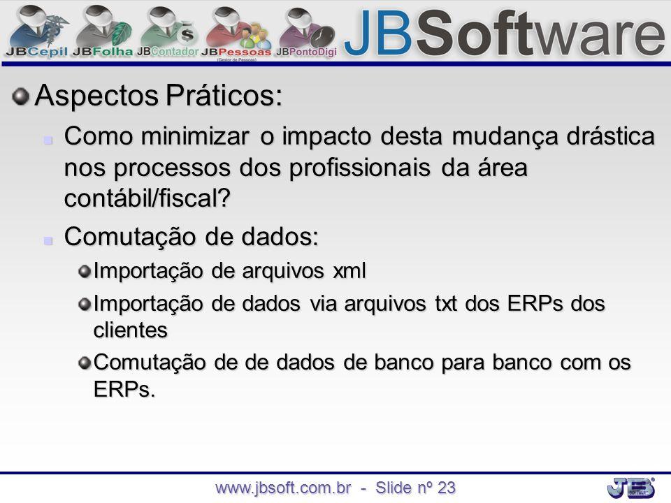 www.jbsoft.com.br - Slide nº 23