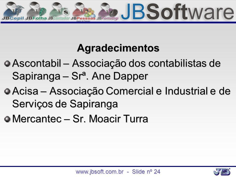 www.jbsoft.com.br - Slide nº 24