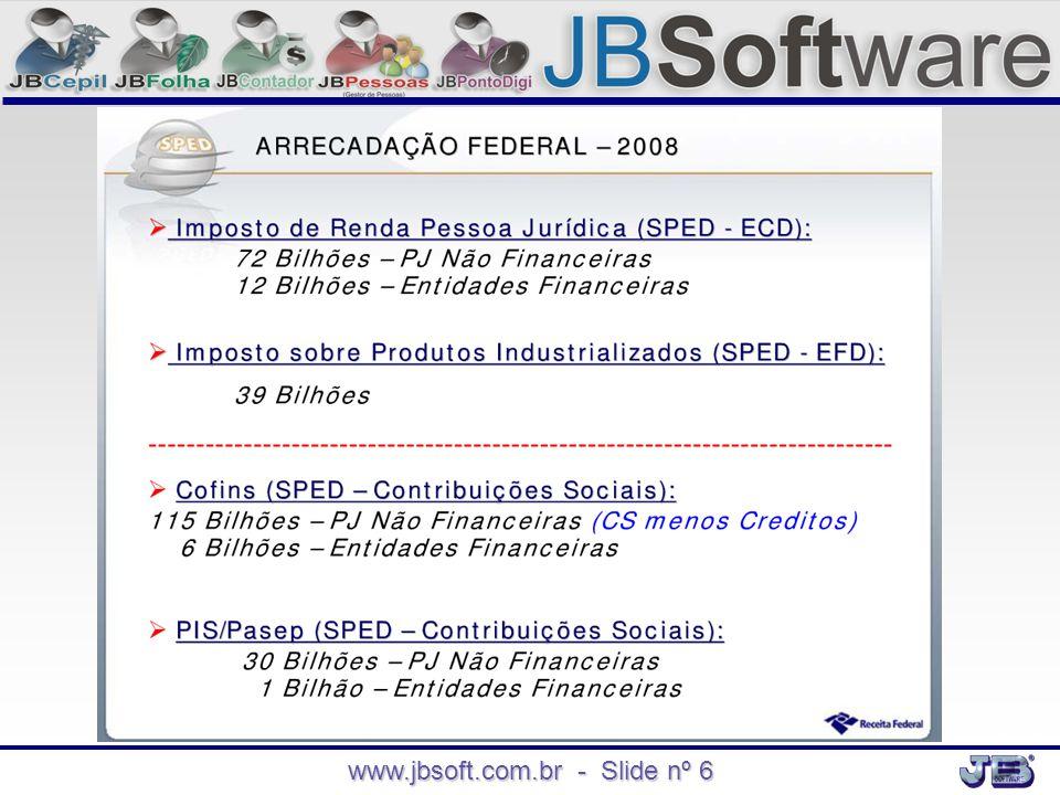 www.jbsoft.com.br - Slide nº 6