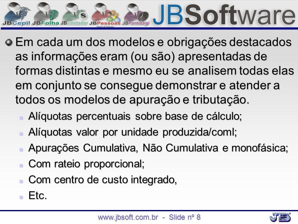 www.jbsoft.com.br - Slide nº 8