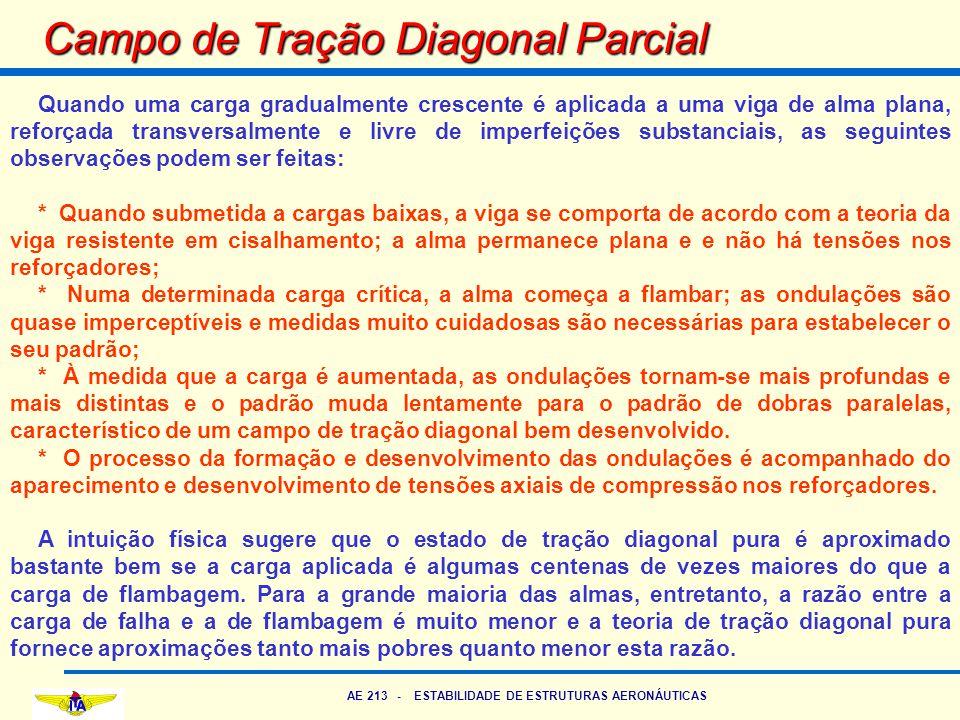 Campo de Tração Diagonal Parcial