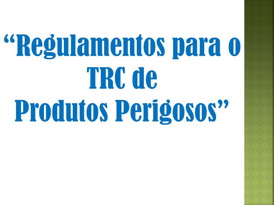 Regulamentos para o TRC de