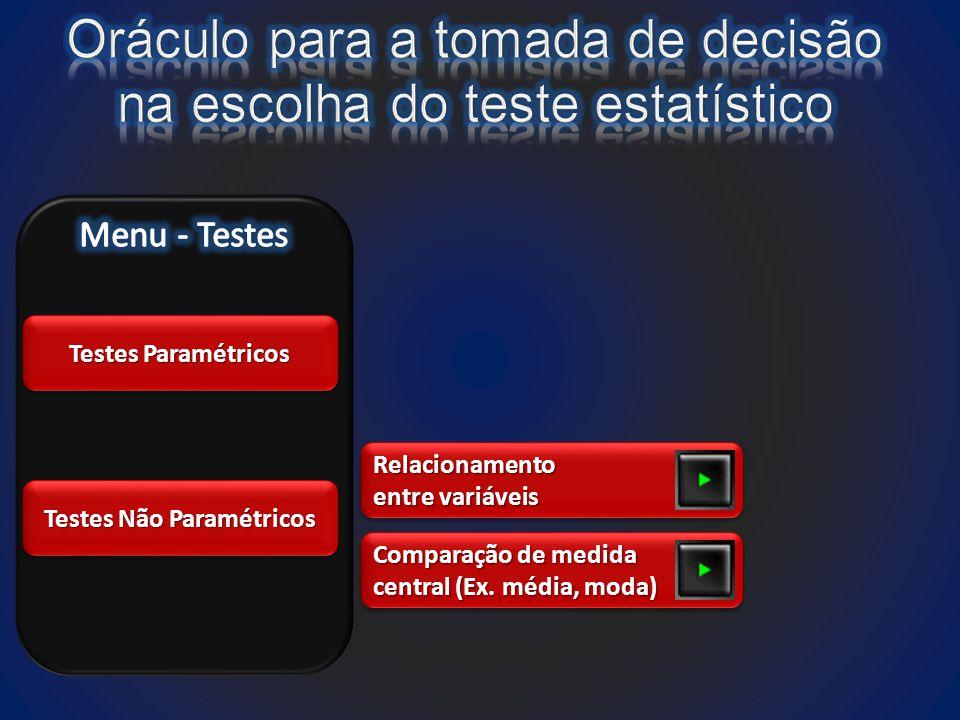 Testes Não Paramétricos