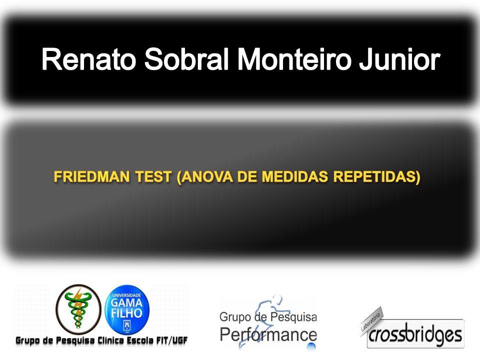 FRIEDMAN TEST (ANOVA DE MEDIDAS REPETIDAS)