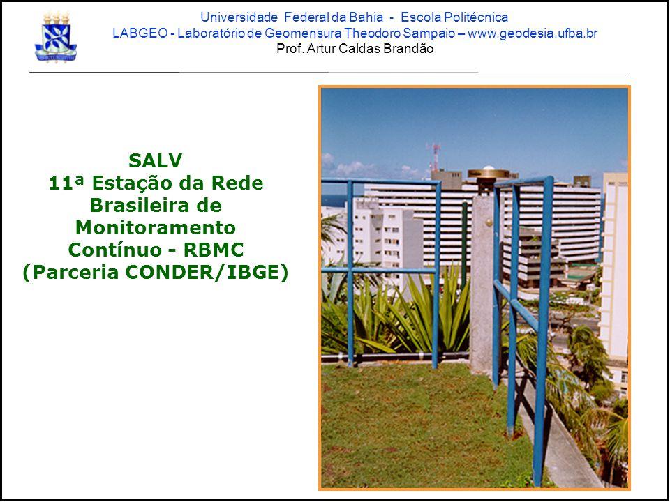 11ª Estação da Rede Brasileira de Monitoramento