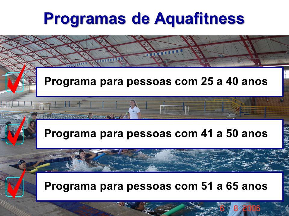 Programas de Aquafitness
