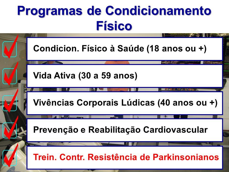Programas de Condicionamento Físico