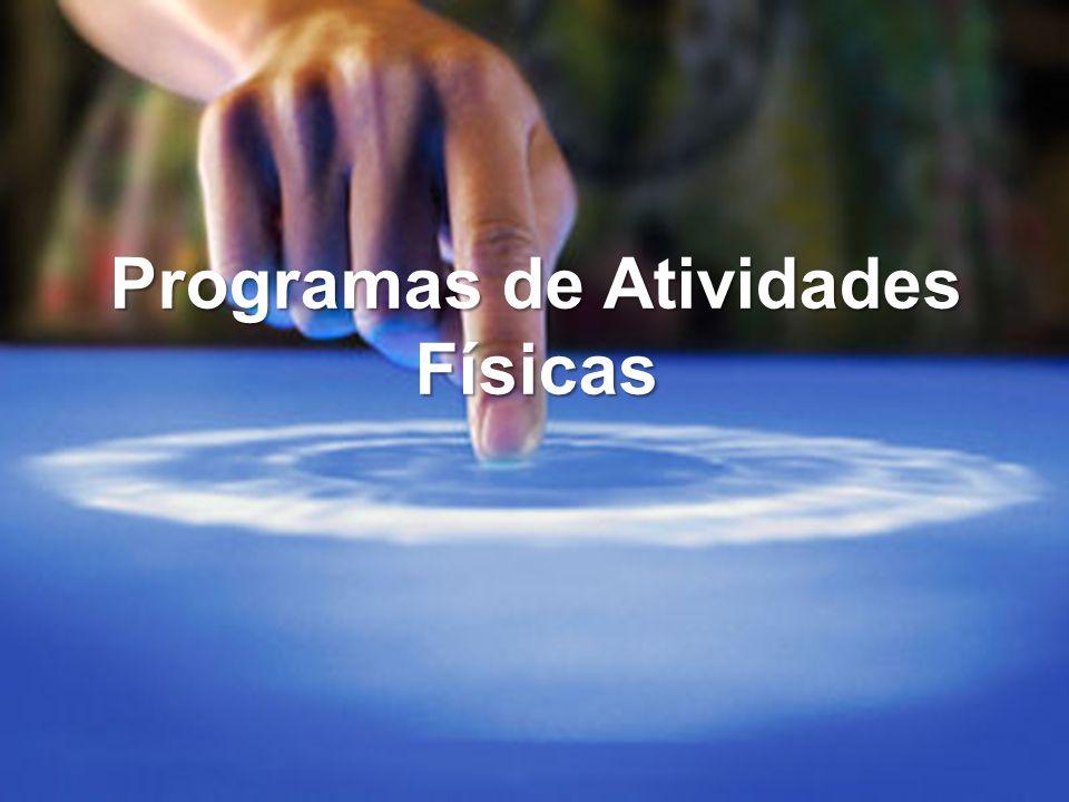 Programas de Atividades Físicas