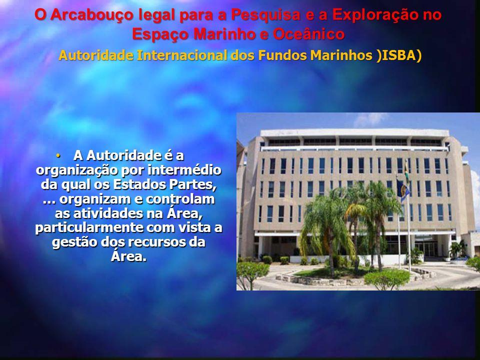 Autoridade Internacional dos Fundos Marinhos )ISBA)