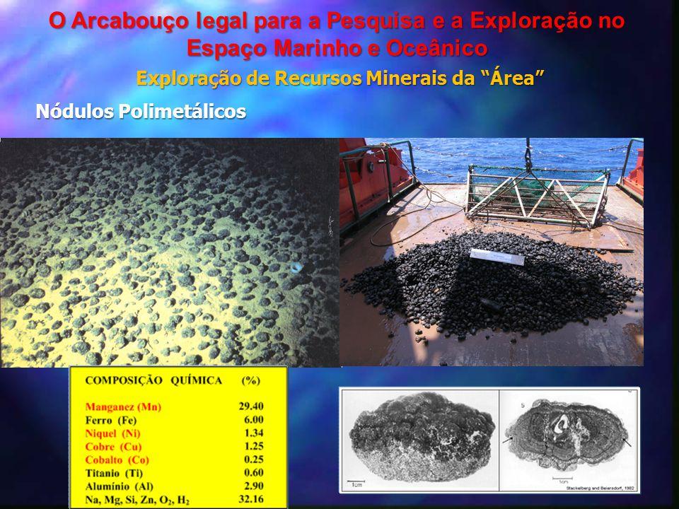 Exploração de Recursos Minerais da Área