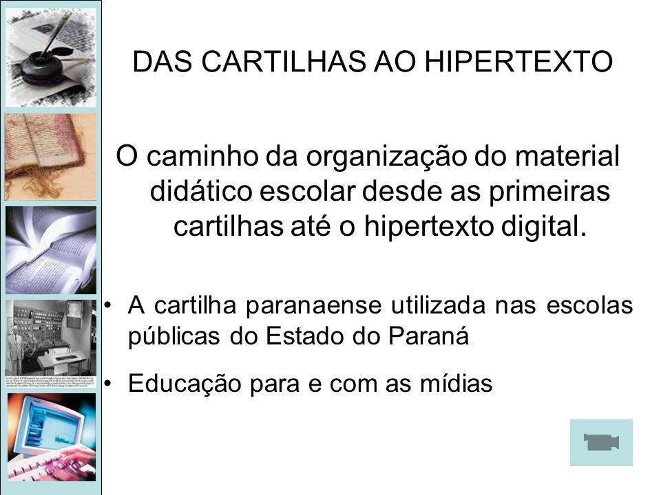 DAS CARTILHAS AO HIPERTEXTO