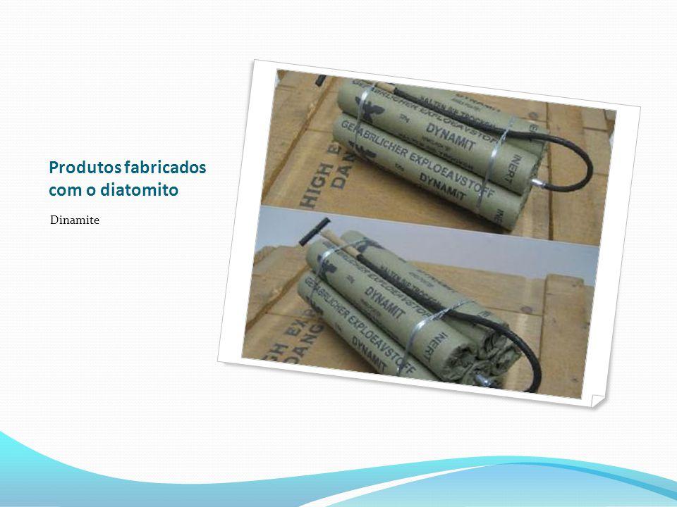 Produtos fabricados com o diatomito