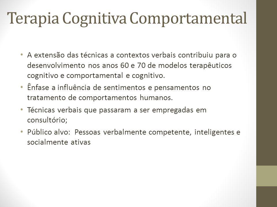 Terapia Cognitiva Comportamental