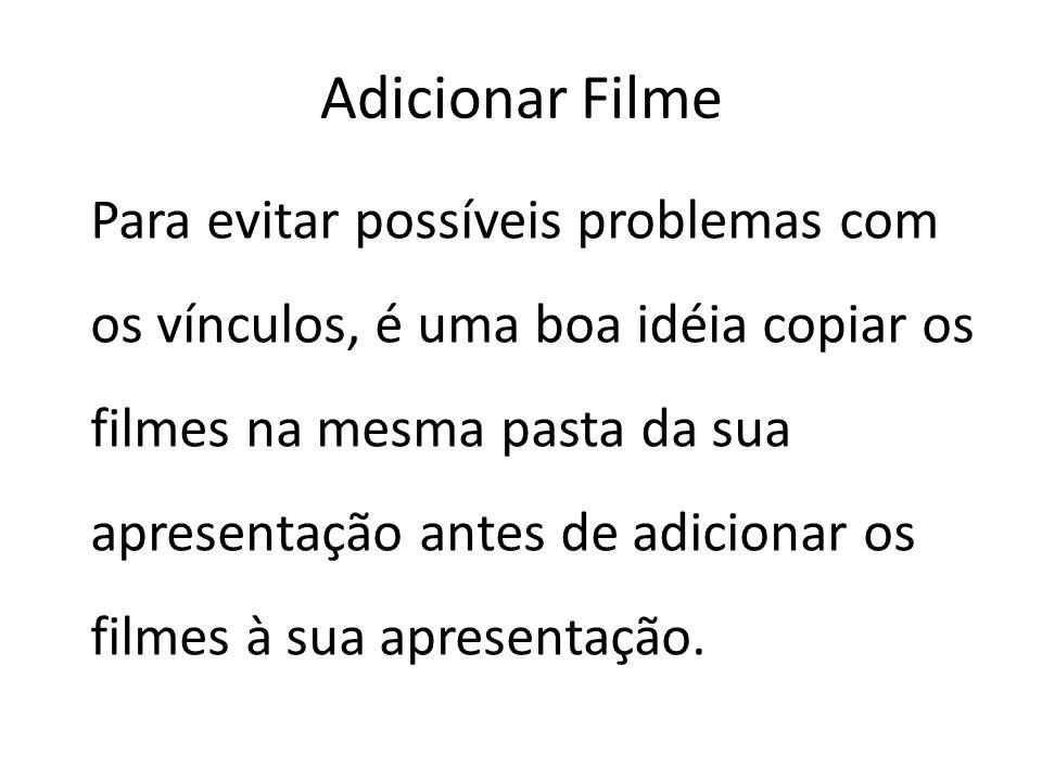 Adicionar Filme