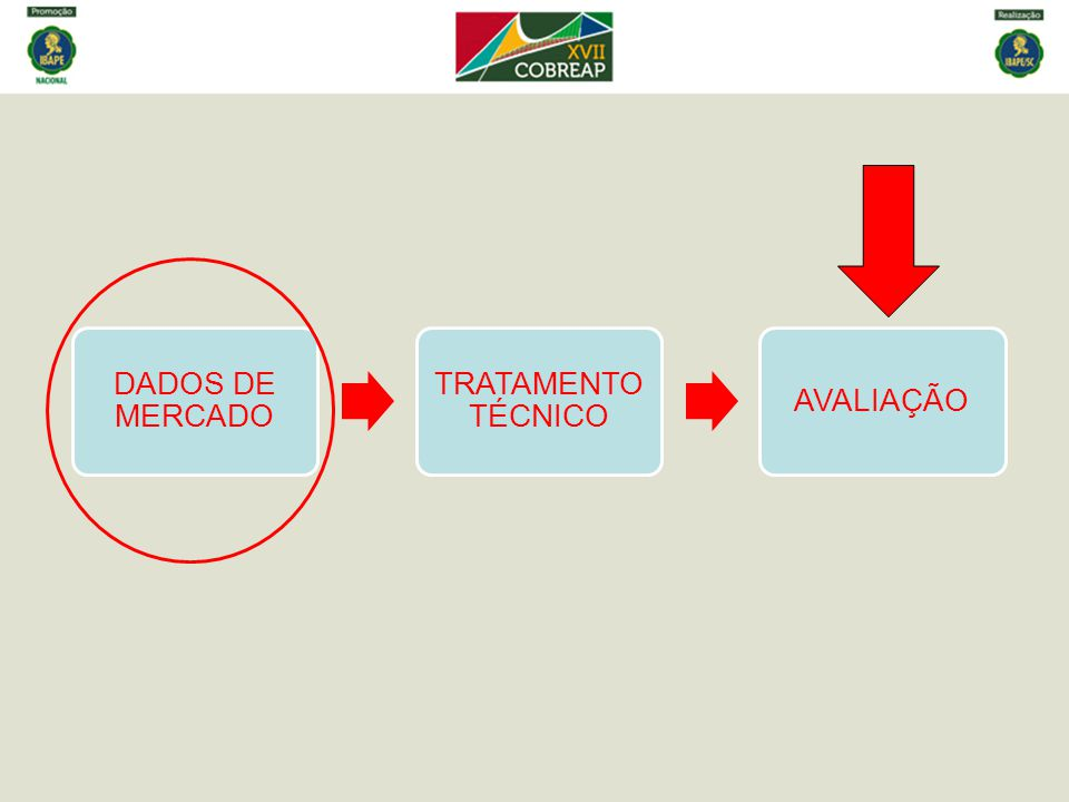 DADOS DE MERCADO TRATAMENTO TÉCNICO AVALIAÇÃO