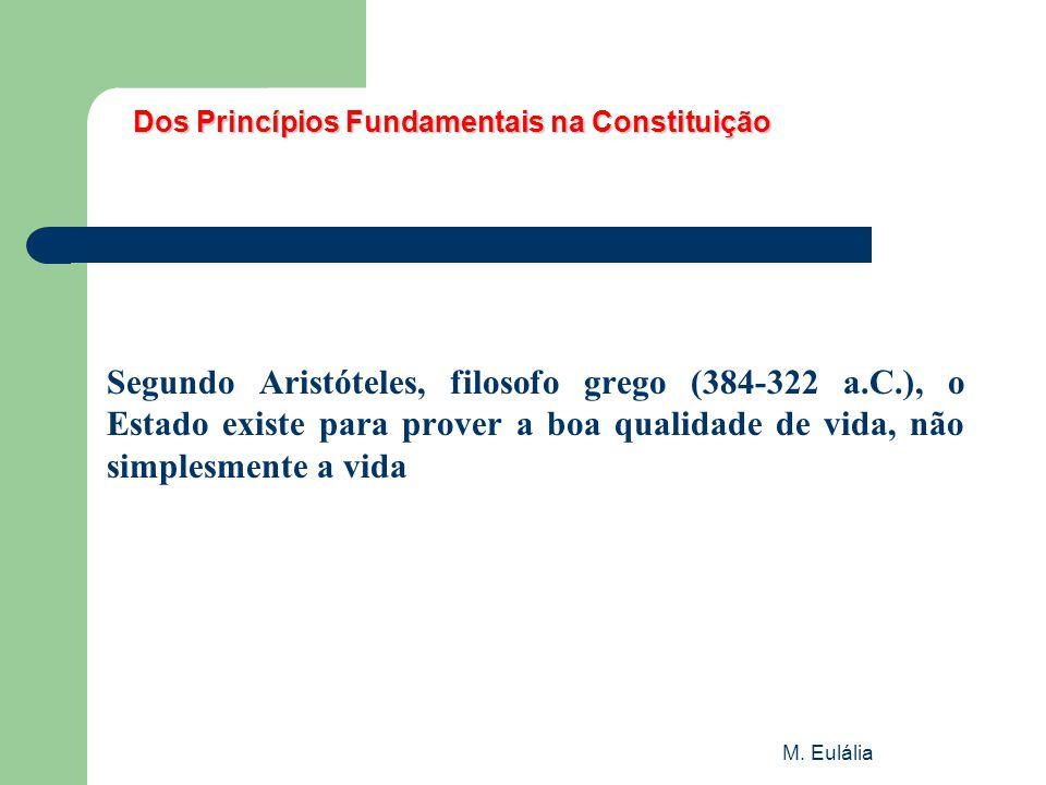 Dos Princípios Fundamentais na Constituição