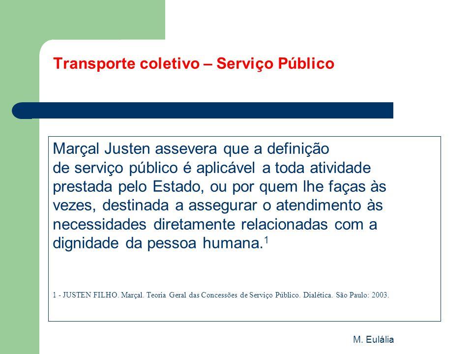 Transporte coletivo – Serviço Público