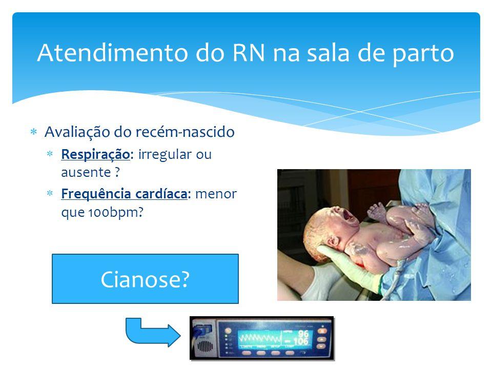 Atendimento do RN na sala de parto