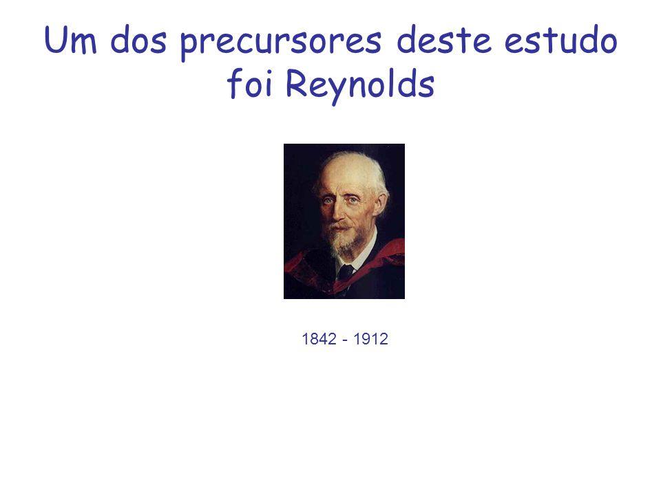 Um dos precursores deste estudo foi Reynolds